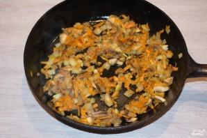 Капустняк с грибами - фото шаг 7