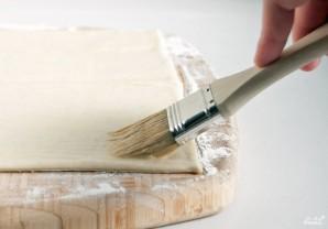 Слоеная сырная палочка  - фото шаг 1