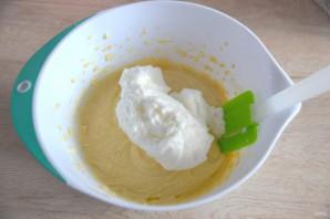 Лимонный торт с белковым кремом - фото шаг 6