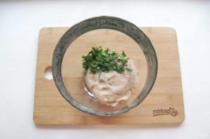 Китайские лепешки с мясом - фото шаг 2