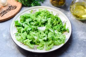 ПП салат из пекинской капусты