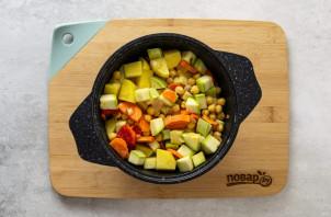 Овощное рагу с нутом - фото шаг 4