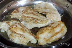 Куриная грудка с лимоном на сковороде - фото шаг 1