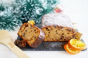 Кекс на портере (Porter Christmas Cake)  - фото шаг 10