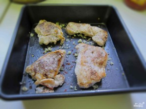 Макаронная запеканка с курицей - фото шаг 3