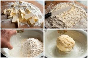 Слоеное тесто для пирожков - фото шаг 2