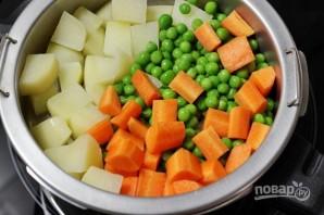 Овощные шарики в кляре - фото шаг 1