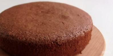 "Торт ""Пьяная вишня"" простой - фото шаг 3"