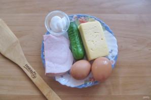 Салат из ветчины с сыром - фото шаг 1