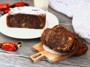 Мраморный кекс в хлебопечке - фото шаг 10