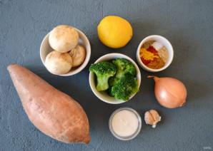 Суп-пюре из батата - фото шаг 1