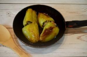 Фаршированные болгарские перцы на зиму - фото шаг 6