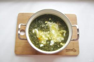 Щавелевый суп с мясом и яйцом - фото шаг 9