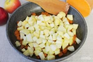 Пряный пудинг из тыквы и яблок - фото шаг 8