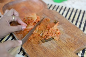 Кимчи с рисом - фото шаг 1