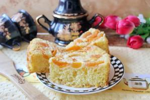 Бисквит с абрикосами - фото шаг 10