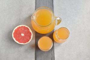 Грейпфрутовый сок - фото шаг 5