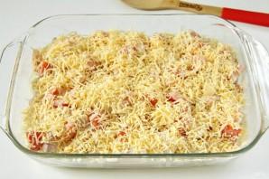 Тилапия в духовке с картошкой - фото шаг 7