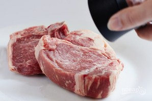 Стейк из лопатки мраморной говядины - фото шаг 1