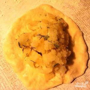 Постные пирожки с картошкой - фото шаг 3