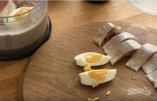 Закусочные пирожные из сельди - фото шаг 3