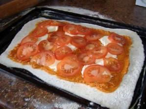 Томатный пирог со спаржей - фото шаг 4