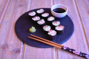 Роллы без риса - фото шаг 6