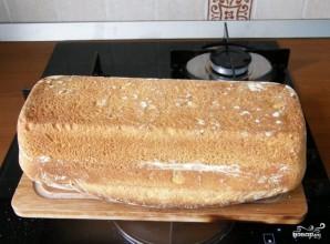 Хлеб на ряженке в духовке - фото шаг 5