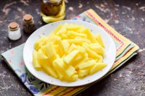Жареная картошка со сметаной - фото шаг 2