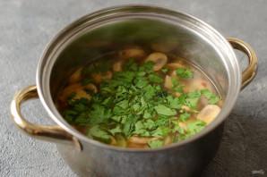 Грибной суп-пюре без сливок - фото шаг 6