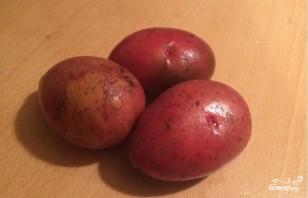 Картошка в микроволновке в пакете - фото шаг 1