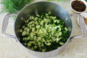 Грибной холодный суп - фото шаг 4
