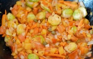 Подлива из моркови и лука - фото шаг 3