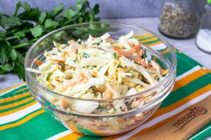 Салат из капусты с сыром и морковью - фото шаг 5