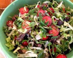 Салат с телятиной и рукколой - фото шаг 6