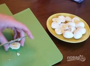 Канапе с сельдью и яйцами - фото шаг 4