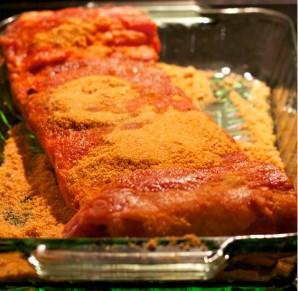 Мясо под соусом в духовке - фото шаг 1