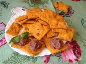 Постные томатные крекеры - фото шаг 8