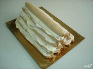 """Торт """"Монастырская изба"""" с вишней - фото шаг 10"""