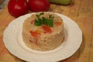 Рис с курицей и помидорами - фото шаг 8