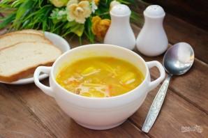 Суп с фасолью и лапшой - фото шаг 9