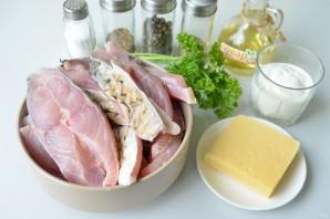 Рыба в йогуртовом соусе - фото шаг 1