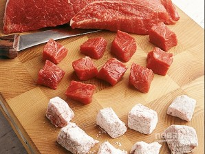 Говяжье мясо - фото шаг 1
