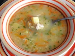 Куриный суп с пшеном - фото шаг 5