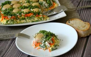 """Салат """"Грибная поляна"""" с корейской морковью - фото шаг 11"""