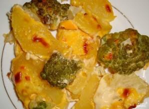 Картофель с брокколи - фото шаг 10