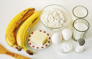 Банановый кекс на кефире - фото шаг 1