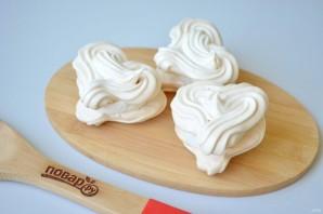 Меренги-сердечки с мороженым - фото шаг 8