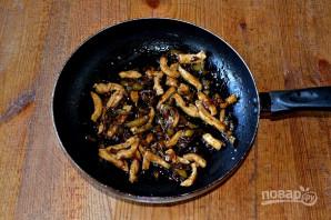 Курица по-китайски с баклажанами - фото шаг 10