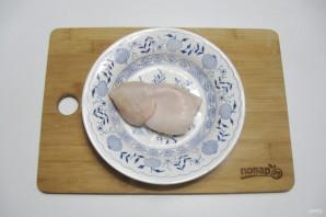 Постный салат с кальмарами - фото шаг 3